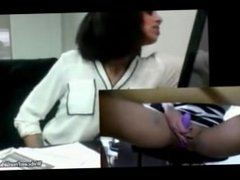 Real Indian Desi Teen Almost Caught Masturbation At Work In Public Office