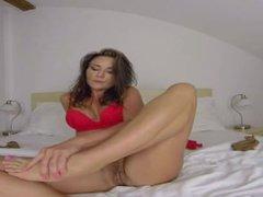 Niki Sweet Foot Fetish (powered by SexLikeReal)