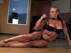 CN beautiful fbb big tits and biceps