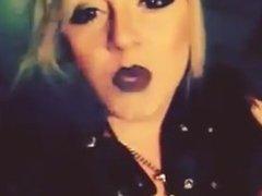 Smoker Enigma - Hot blonde smoking