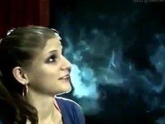 Smoker Enigma - HOT girl smoking talking about smoke