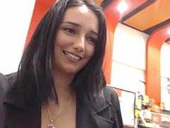 Pubic webcam restaraunt flashing girl