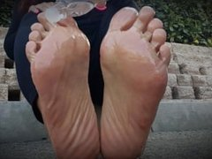 Candy's Oily Thick Asian Public Soles