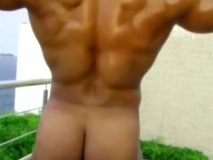 Big Beautiful Black Bodybuilder