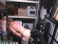 Straight boys eating each others cum gay Dungeon master with a gimp