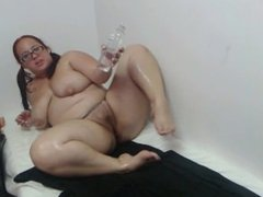 Fat BBW but Dick Sitffening Feet long toenails
