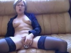 Milf has intense orgasm with bottle in her pussy - yourcamz.com
