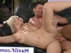 Blonde Girlfriend Hardcore Sex Porn Video