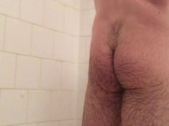 James in the Shower!