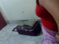 Hungry desi aunty fucked by her lover raheel