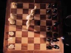 Two Men Battle For Dominance