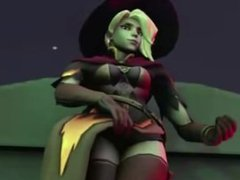 Overwatch witch mercy porn compilation