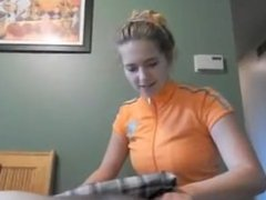 Dick Massage from Physical Therapist Step-Sister
