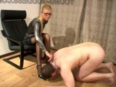 Mistress Ekaterina - High Heels and Black Stockings 1