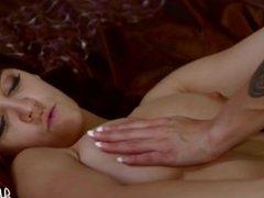 Mia Austin And Caroline Ray Sleepover Fuck
