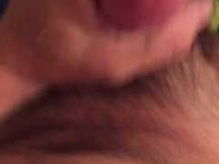Amateur straight 32 year old white man jerking myself off with a big cock