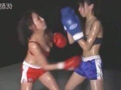 Japan girl boxing 2
