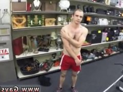 Fag sucks big straight cock gay Fitness trainer gets anal banged