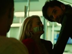 Margot Robbie Ziptied and Tape gagged!!!
