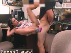 Amateur pegging strapon Big titty Latina is a cockslut for some cash