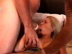 Blonde cougar Dee DiCarlo loves taking big cocks