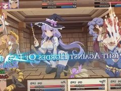 Sakura Dungeon hentai anime RPG fantasy game trailer