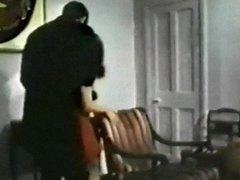 SAFE - vintage bdsm clip female burglar bound for punishment