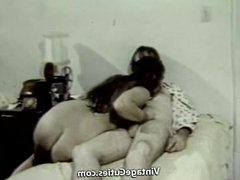 Nasty Lovers Fucking on the Camera (1970s Vintage)