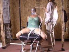 First bondage orgasm