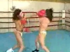 topless ring boxing