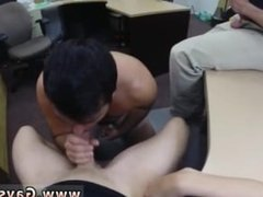 Hot male hunk gay Straight fellow heads gay for cash he needs