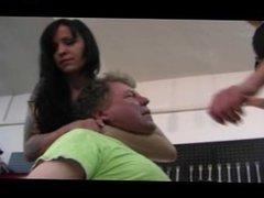 femdom 6 trample, slap, beat