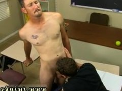Gay porn movie twink toon Danny Brooks finds his student, Max Martin,