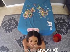 POVD - Naughty maid Violet Starr Halloween trick or treat