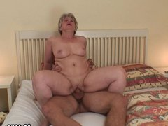 My horny mother in law awakes me