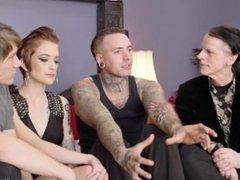 MMF Threesome (Kink University) - Ruckus, Sam Solo, and Jeze Belle