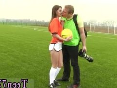 Guy fucks two hot teens and brunette babe hd solo Dutch football player