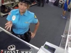 Interracial ffm hardcore Fucking Ms Police Officer