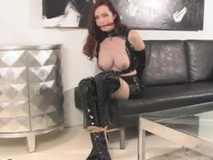 Emily Marilyn Bondage in Latex