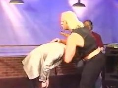 Hulk Hogan Overpowers and Chokes Out Talk Show Host  Bashes Head On Ground