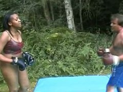 Busty Beauty Mixed Boxing