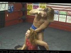 Pro mixed wrestling - maledom
