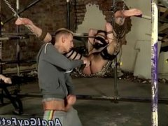 Male bondage muscle and bondage gay russian A Boys Hole Used For
