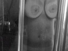 Laura fucked in shower