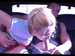 Anal for blonde milf in sexy threesome (MC)