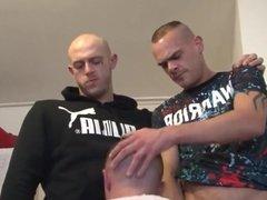 English Hard Chavs Take Turns Fucking Scally Slag