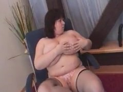BBW gets fingered then fucked
