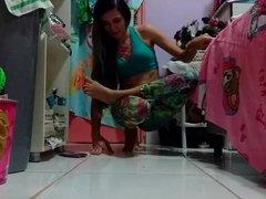 yoga challenge HOT 11
