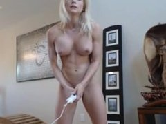 Blonde webcam goddess another hitachi orgasm more at FreeSexyCamWhores_com