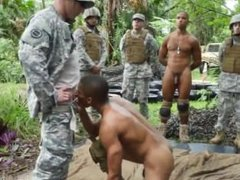 Military gay sex pissing movie Jungle penetrate fest